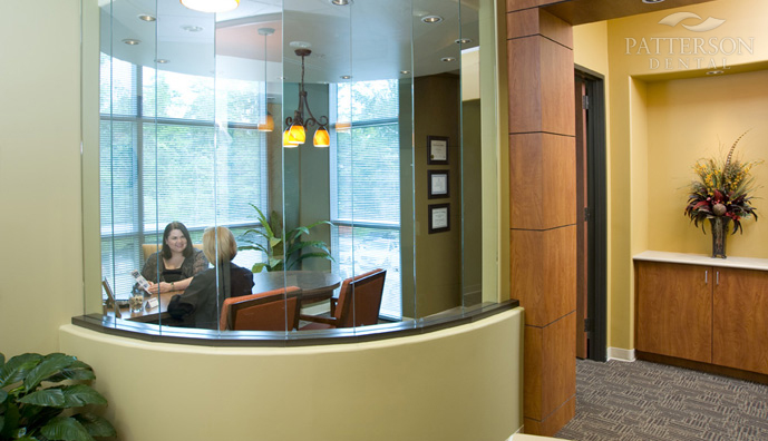 Dr. Garner's consultation room provides a private space to discuss diagnoses and treatment options