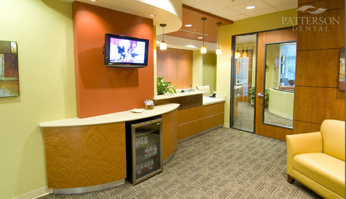 Because Dr. Garner's patients rarely wait longer than 10 minutes for an appointment, her waiting area is relatively small.