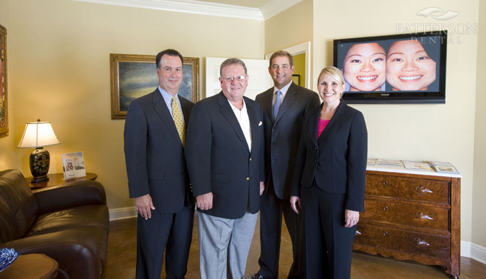 From left to right: Mike Talley, Dr. R. Mike Lee, Chris Counce and Christy Dupré.